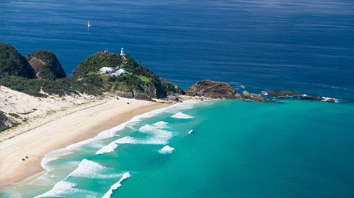 80 Minute Flight – Myall Lakes, Sugarloaf Point, Forster, Tuncurry and Taree