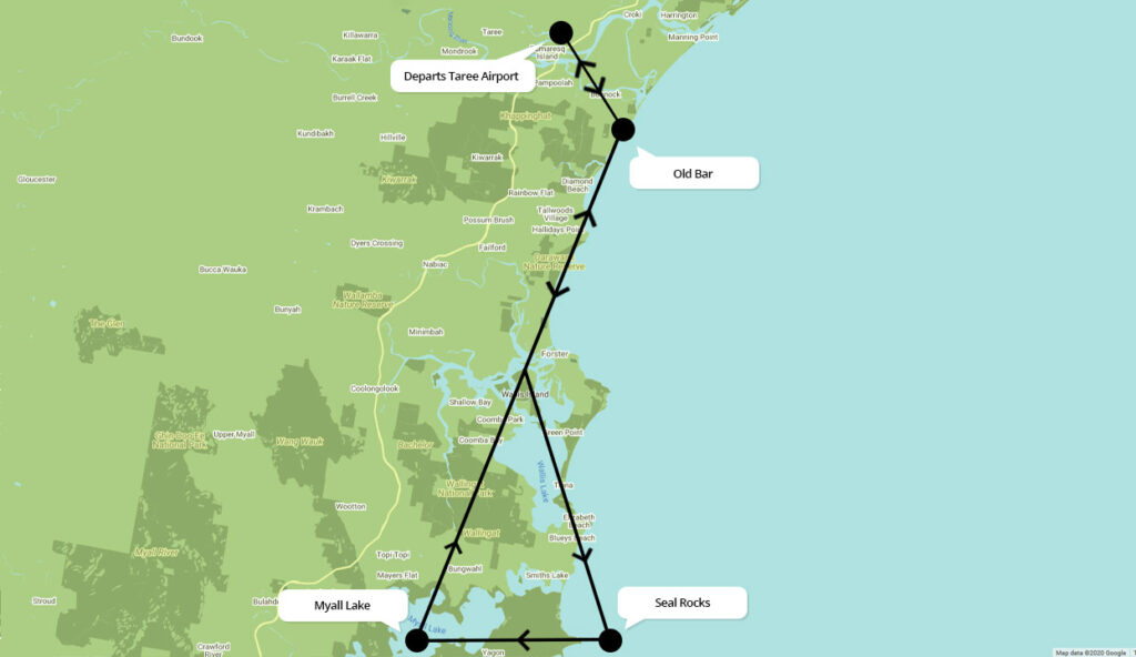 Scenic Flights over Forster-Tuncurry
